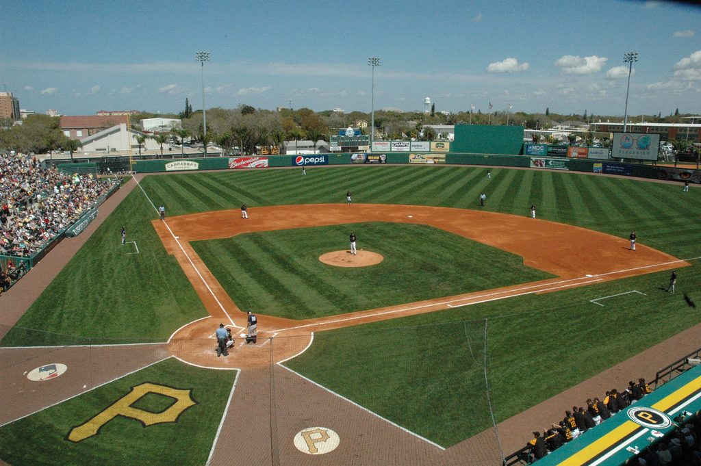 Pittsburgh Pirates Love McKechnie Field