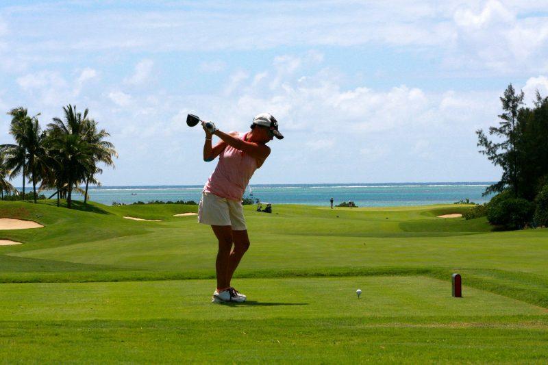 Golfing on Anna Maria Island