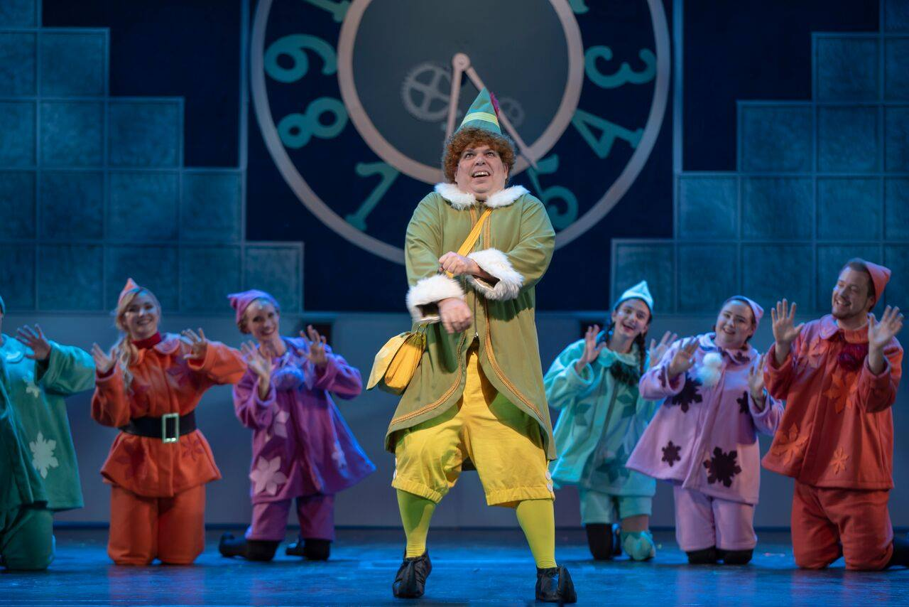 Elf the musical at the Manatee Performing Arts Center in Anna Maria Island