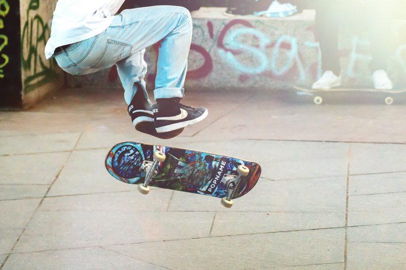 Skateboarding in Anna Maria Island