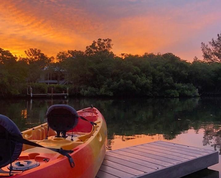 Sunset kayaking anna maria island
