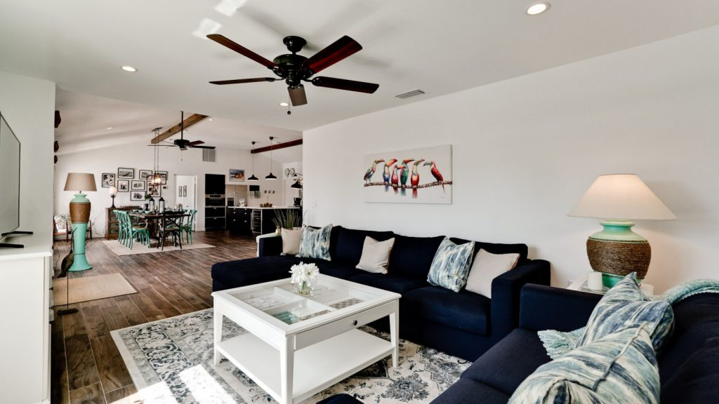 Inside view of Anna Maria Island vacation rental home