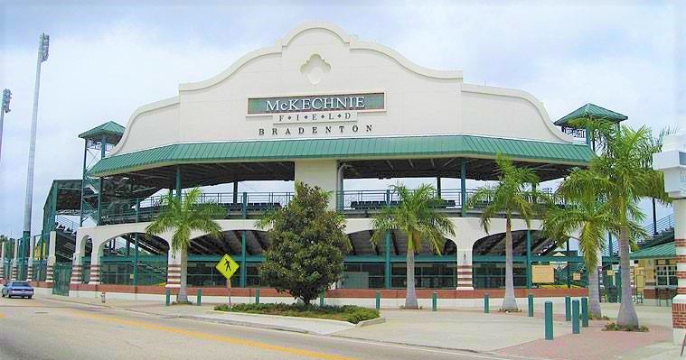 McKechnie Field view of the outside