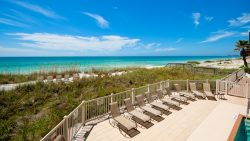 Anna Maria Island beach view from rental