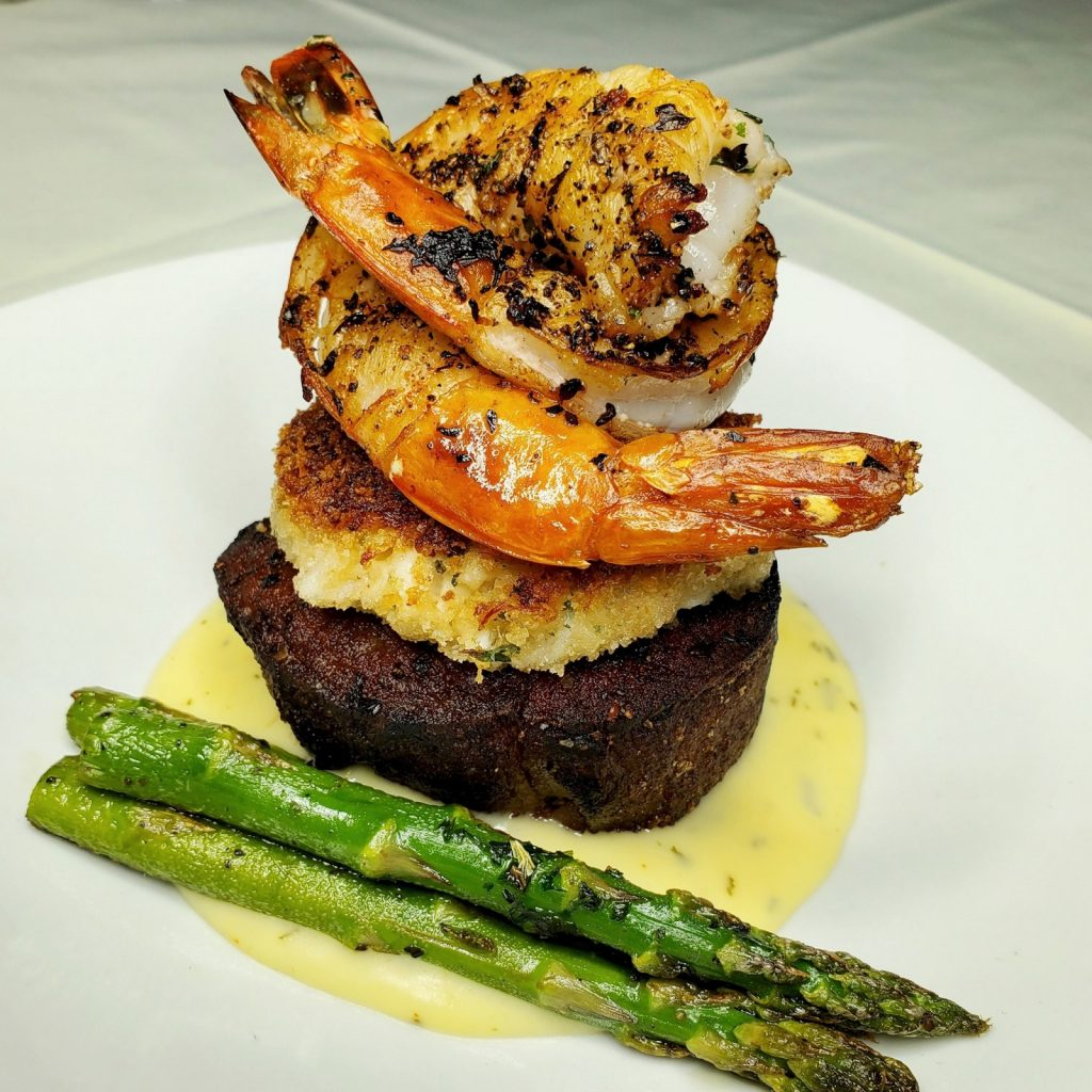 michael johns surf and turf dish